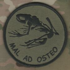 SEAL ODA AFSOC TACP COMBAT CONTROL νeΙ©®⚙ PATCH: MAL AD OSTEO (Bad to the Bone)