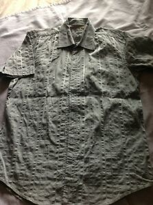 Mens Ted Baker Shirt Size 3 / Medium -  pale green -  Great condition