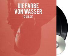 """Curse """"die farbe von wasser"""" limited Vinyl 2LP + CD NEU Album 2018 Erstauflage"""