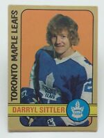 1972 73 O Pee Chee Darryl Sittler 188 Toronto Maple Leafs Ice Hockey Card E433