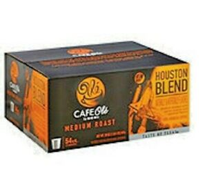 HEB Cafe Ole Houston Blend Medium Roast Single Serve K-cups 54 ct