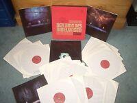 WAGNER DER RING DES NIBELUNGEN 16XLP BOX SET & 4 BOOKLETS PHILIPS STEREO LP
