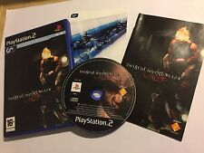 PAL PLAYSTATION 2 PS2 Jeu TWISTED METAL BLACK ONLINE + boîte Instructions Complètes