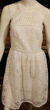 TRINA TURK White Lace Halter Dress NWT Size 6