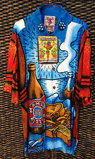 MAMBO LOUD SHIRT *LARGE* STILL LIFE WITH FRANCHISE* BEER BONG MEAT PIE CHIPS NWT