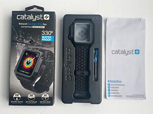 "CATALYST Waterproof Case For Apple Watch 42mm Series 2 & 3/ READ~ ""No Set Screw"""