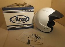 Gently Used Arai Classic M Helmet  Size Small -Pearl White With Original Box