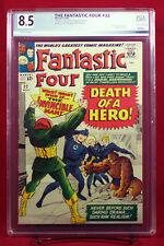 FANTASTIC FOUR #32 (Marvel) PGX 8.5 VF+ Very Fine Plus DEATH OF A HERO!! +CGC!!!