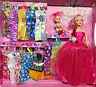 PRINCESS DOLL PLAY SET WITH DRESSES GIRLS BEST Beautifull TOY GIFT B388-8