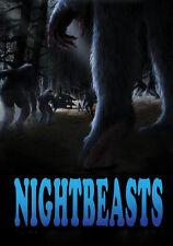 NIGHTBEASTS New Sealed DVD Bigfoot Sasquatch 2018