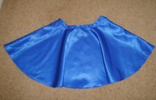 Ladies Girls Royal Blue Mini Skirt XS Rock-N-Roll 1950s Cheerleader Fancy Dress