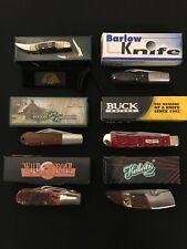 KNIFE LOT -Resale/Dealer/Collector -BUCK/Wild Boar/Frost/Rite Edge/Herbertz db