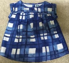 Girls Baby Gap Lined Cotton Tunic Top Dress Size 3 yrs