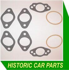 """2 SU 1 ½"""" H4 Carburettor GASKET SET for Aston Martin DB1 2lt 4cyl 1970cc 1948-50"""