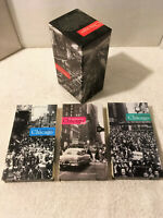 REMEMBERING CHICAGO VHS BOXED SET 3 Video Tapes WTTW PBS 180 Min Great Footage