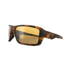 Oakley Sonnenbrille Double Edge OO9380-07 Matt Tortoise Prizm Tungsten Polarized