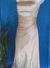 Wunderschönes goldfarbiges Abendkleid/Ballkleid von Juju & Christine - Gr 38