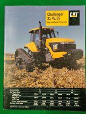 CAT Challenger 35, 45, 55 Agricultural Tractors Brochure AEHQ5349  Pub Date 2-99