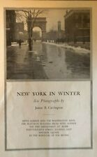 1917 New York City Winter Fifth Avenue Flat Iron Building Bronx Madison Square