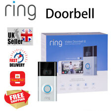 Ring Video Doorbell.2 1080p HD WiFi Two-Way Talk Motion Detection Camera V2 -`