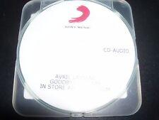 Avril Lavigne Goodbye Lullaby Rare Australian Promo CD