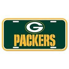 GREEN BAY PACKERS ~ (1) Official Team Logo NFL Color License Plate ~ New!