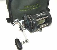 Shimano Charter Special TR2000 lever drag sea fishing multiplier reel & braid...