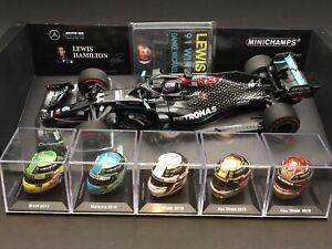 1/18 1/8 Minichamps Lewis Hamilton Mercedes 2020 Eifel Grand Prix Schumacher