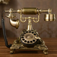 Vintage Antique Style Phone Old Fashioned Retro Handset Old Telephone-UK