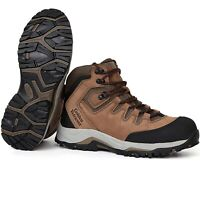 """Mens Work Boots 6"""" Hiking Shoes Steel Toe Non-slip Waterproof Breathable Safety"""