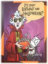 Hallmark Maxine It's Your Birthday It's Halloween Trick and Treat Card NEW
