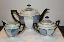 Vintage 21Pc P.A.L.T  Czecho-Slovakia Tea Set Blue/White 2 Tone