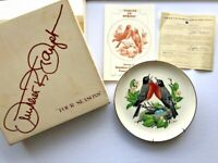 Vintage 1978 Gunther Granget Four Seasons Limited Edition Plate Voices of Spring