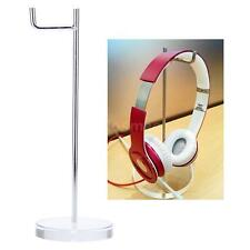 Acrylic Metal Headphone Display Rack Stand Holder Earphone Headset Hanger M7I7