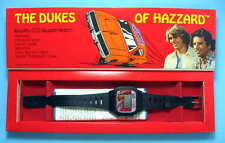 Dukes Of Hazzard 1981 LCD Watch New in Box Not Working
