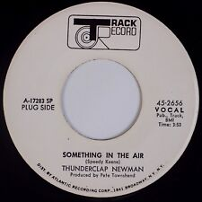 THUNDERCLAP NEWMAN: Something in the Air TRACK DJ Promo ORIG 45 NM!