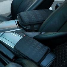 Jdm Bride Black Fabric Car Armrest Pad Cover Center Console Box Cushion Mat (Fits: Acura Vigor)