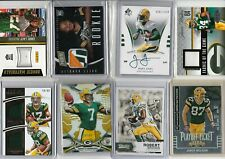 LOADED GREEN BAY PACKERS LOT (26) W/ AUTOS RELICS LOW #'D RC'S RODGERS JONES