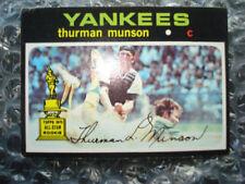 Carte collezionabili baseball originale singoli New York Yankees