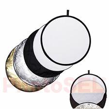 Weiße Runde/Dreieckige Reflektoren fürs Fotostudio mit Tasche
