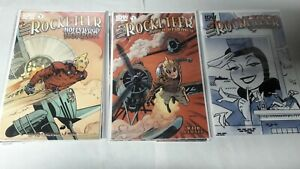 9 ISSUE LOT IDW ROCKETEER HOLLYWOOD 1-4 HORROR CARGO OF DOOM 1-4 ADVENTURES 2 2