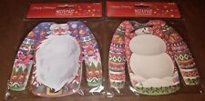 Santa and Snowman Sweater Shaped Notepads.