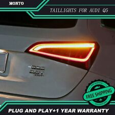 Tail lights for Audi Q5 2009-2015 LED Tail Lamp rear trunk lamp cover drl+signal