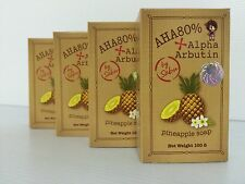 Pineapple Soap + Alpha Arbutin AHA 80%, Skin Lightening, White Skin
