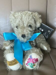 Merrythought London 2012 Paralympic Games Commemorative Bear Ltd 258 of 2012!!!