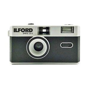 Ilford Sprite 35-II Reusable Camera - Black & Silver