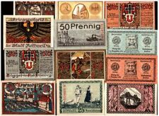 Collection of 10, 20 or More Rare Kriegsgeld (Ww1 Dated Money) Many w War Images