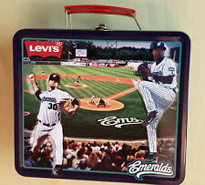 Eugene Emeralds Levi's Promo Metal LUNCHBOX Minor League Baseball MLB SGA Cubs