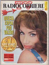 rivista TV RADIO CORRIERE ANNO 1967 NUMERO 42 MARIA GRAZIA BUCCELLA