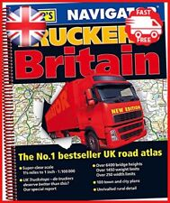 Philip's 2019 Navigator Trucker's Britain: Spiral Philips Road Atlas